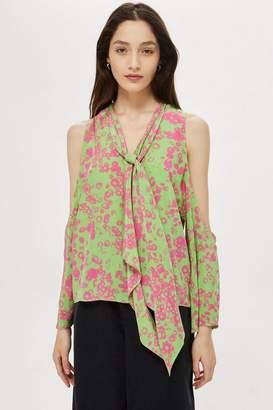 Topshop Daisy Cold Shoulder Top by Boutique