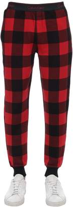 Calvin Klein Underwear Check Cotton Blend Pajama Pants