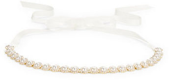Kate SpadeKate Spade New York Faceted Faux Pearl-Accented Belt