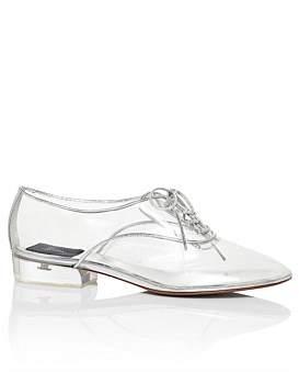 Marc Jacobs Oxford With Plexiglass Heel