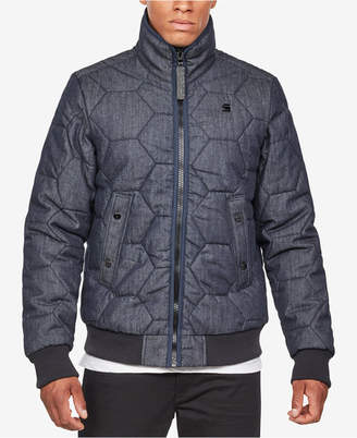 G Star Men's Medallion Quilted Jacket
