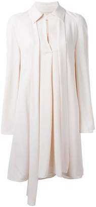 Chloé tie-neck dress