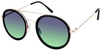 Elie Tahari Women's Th702 Ox Round Sunglasses