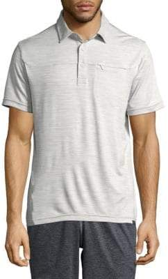 Hawke & Co High-Rise Short-Sleeve Polo