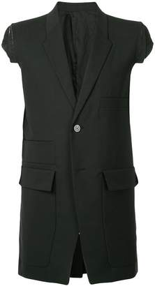 Rick Owens Multipocket Tailored Sleeveless blazer