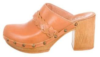Penelope Chilvers Studded Leather Clogs