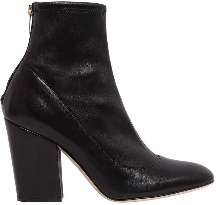 90mm Stretch Nappa Leather Boots