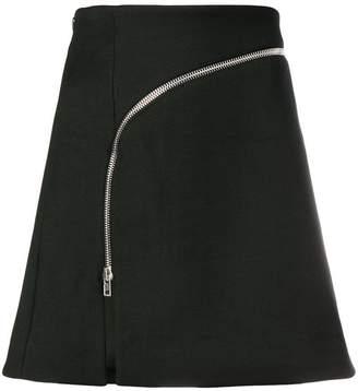 Alexander Wang fitted zipped skirt