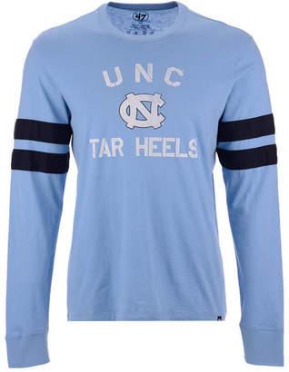 '47 Men North Carolina Tar Heels Long Sleeve Scramble T-Shirt