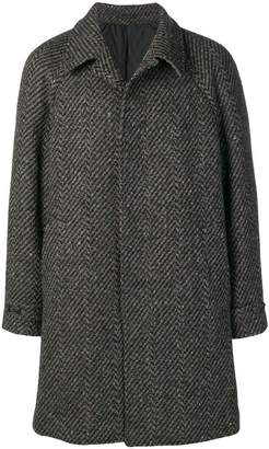 Ermenegildo Zegna single breasted overcoat
