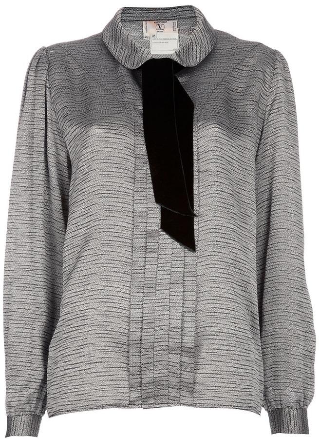 Valentino Bow blouse