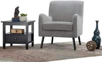 Simpli Home Dysart Mid Century Arm Chair