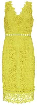Mint Velvet Citrus Eyelet Lace Dress