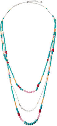 Nakamol Delicate Beaded Triple-Strand Necklace