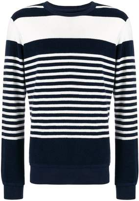 Orlebar Brown striped knit sweater