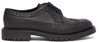 Burberry Alexre Leather Brogues - Mens - Black