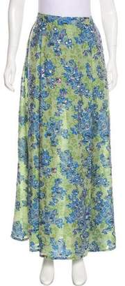 Thierry Colson Floral Maxi Skirt