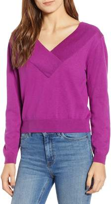 Leith Double-V Pullover