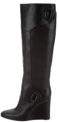 Balenciaga Wedge Knee Boots