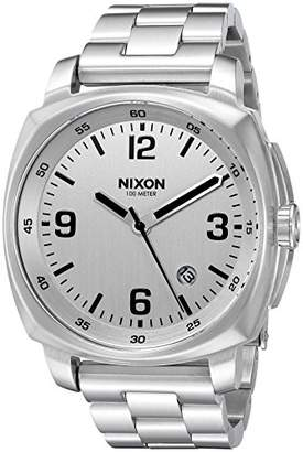 Nixon Men's 'Charger' Quartz Metal and Stainless Steel Watch