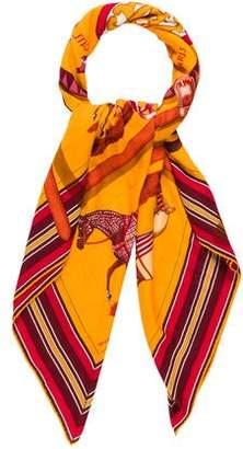 Hermes Couvertures Et Tenues Cashmere Silk Shawl