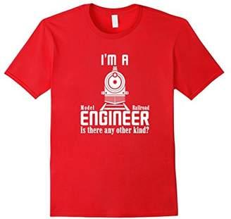 I'm a Model Railroad Engineer T-shirt Funny Model Train Tee