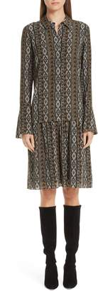 Lafayette 148 New York Sansa Kilim Silk Dress