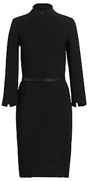 Akris Women's Belted Sheath Dress