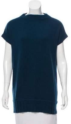 Diane von Furstenberg Aeron Wool Short Sleeve Sweater
