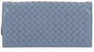 Bottega Veneta Intrecciato Flap Wallet-on-Chain