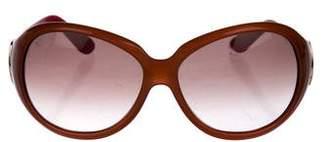 Emilio Pucci Oval Tinted Sunglasses