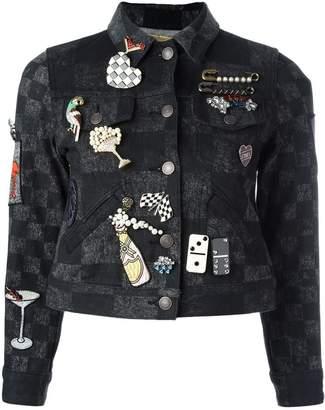Marc Jacobs (マーク ジェイコブス) - Marc Jacobs マルチブローチ クロップドジャケット