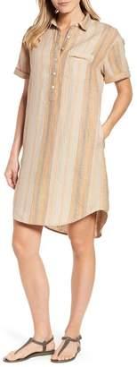 Caslon R R) Shirt Dress (Regular & Petite)