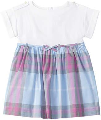 Burberry Girls' Checked A-Line Dress