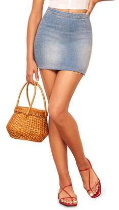 Reformation Evie Miniskirt