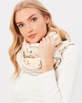 Mng Silhouette Scarf
