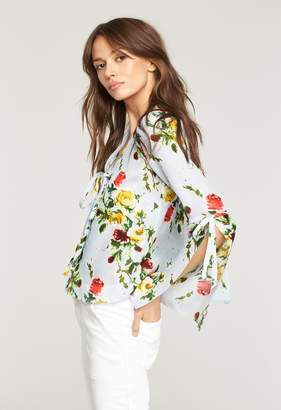 Milly ROSE PRINT MAGGIE TOP