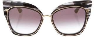 Dita Stormy Cat-Eye Sunglasses w/ Tags