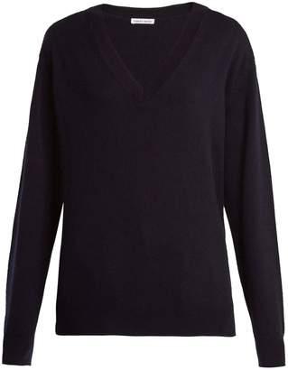 Tomas Maier V-neck fine-knit cashmere sweater
