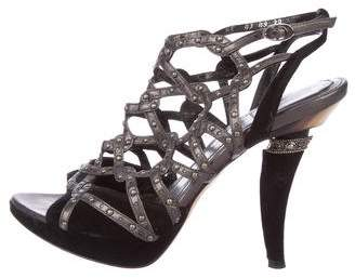Christian Dior Cage Platform Sandals