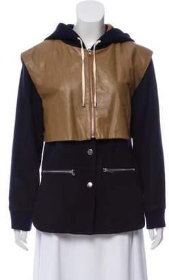 Jonathan Simkhai Hooded Casual Jacket