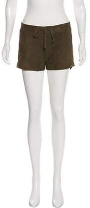 Vince Leather Mini Short