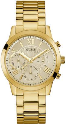 GUESS Women's Gold-Tone Stainless Steel Bracelet Watch 40mm