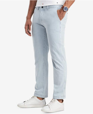 Tommy Hilfiger Tommy Hilfiger's Men's Classic Fit Striped Chino Pants, Created for Macy's