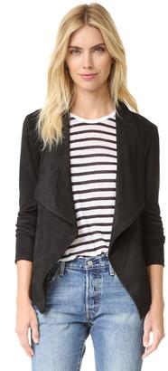 BB Dakota Nicholson Faux Suede Jacket $105 thestylecure.com
