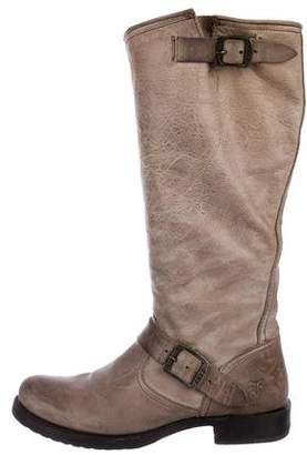 Frye Leather Knee-High Boots