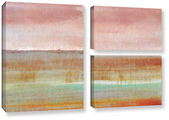 Wayfair Landscape Autumn 3 Piece Painting Print on Wrapped Canvas Set