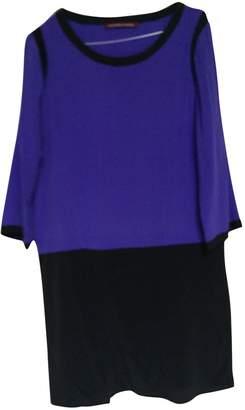 Comptoir des Cotonniers Purple Silk Dress for Women