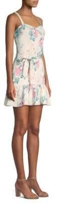 Parker Yuna Floral Mini Dress