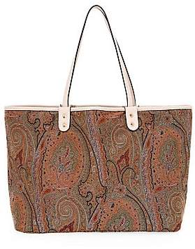 Etro Women's Arnica Paisley Embroidered Tote Bag